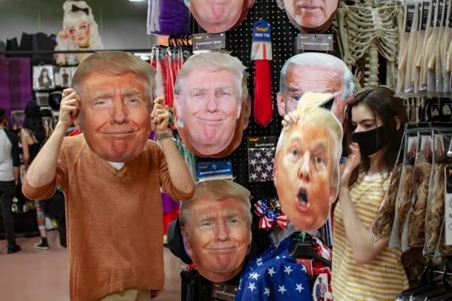 donald trump halloween masks