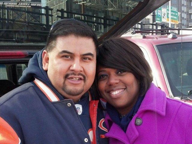 Interracial Couple Delisa & Eduardo -  Illinois, United States