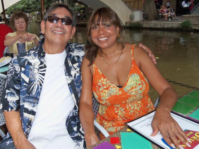 Interracial Couple Aureliano & Jonita - California, United States